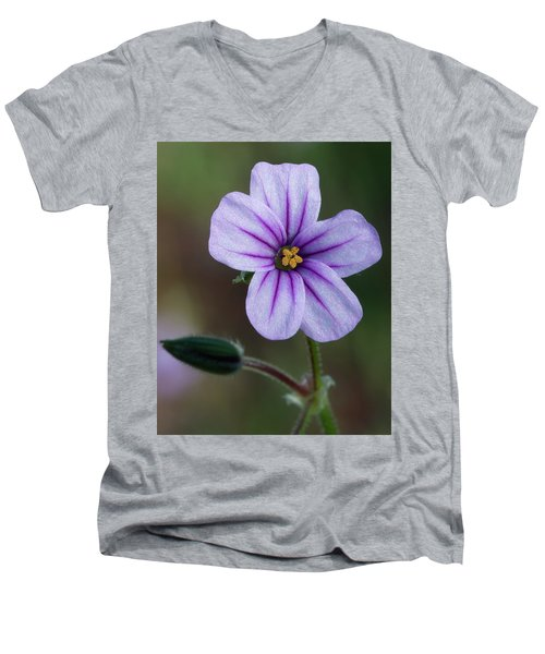 Wilderness Flower 3 Men's V-Neck T-Shirt