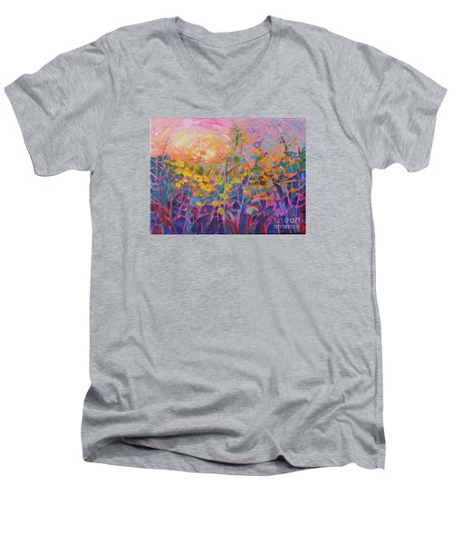 Wildflower II Men's V-Neck T-Shirt