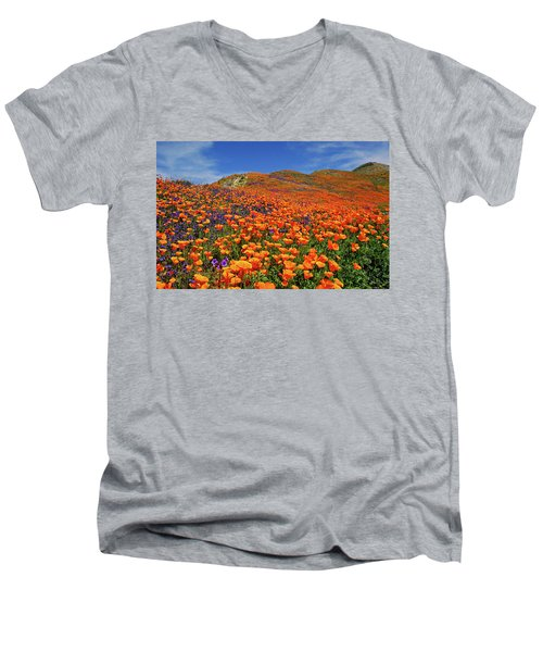 Wildflower Jackpot Men's V-Neck T-Shirt
