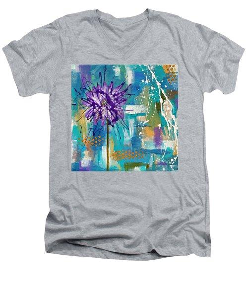 Wildflower No. 1 Men's V-Neck T-Shirt