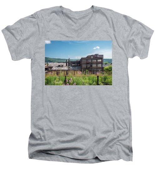 Wildflowers At Bethlehem Men's V-Neck T-Shirt