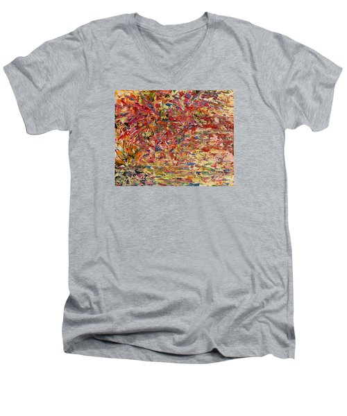Wildflowers Dancing With The Light Men's V-Neck T-Shirt