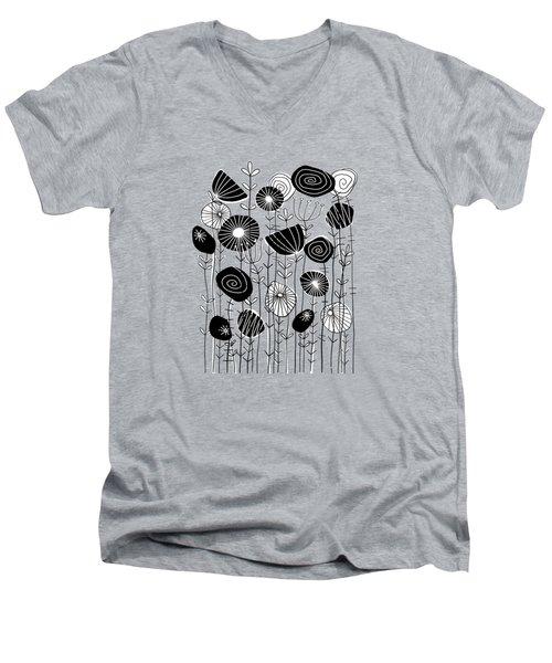 Wildflowers Grow Free Men's V-Neck T-Shirt