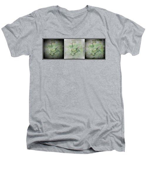 Wildlife In A Storm Men's V-Neck T-Shirt by Denise Fulmer