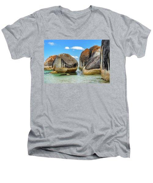 William Bay 2 Men's V-Neck T-Shirt