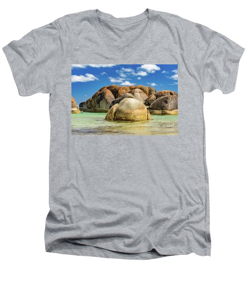 William Bay Men's V-Neck T-Shirt