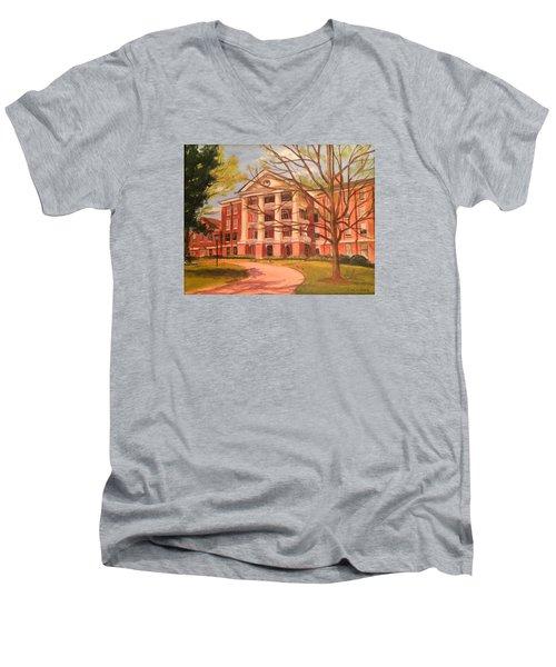 William Peace University Men's V-Neck T-Shirt