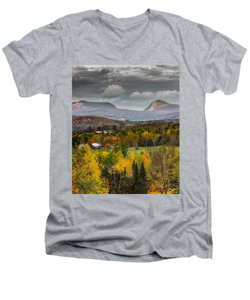 Willoughby Gap Late Fall Men's V-Neck T-Shirt