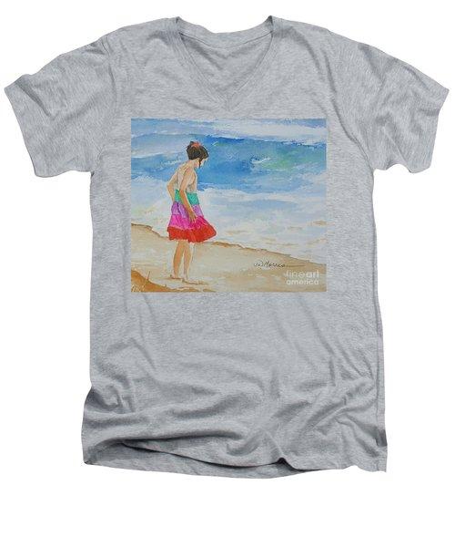 Willow At Rosemary Beach Men's V-Neck T-Shirt