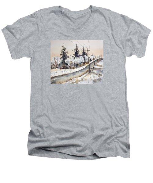 Willow Springs Road Men's V-Neck T-Shirt