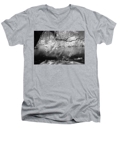 Willow Tree Lake II Men's V-Neck T-Shirt
