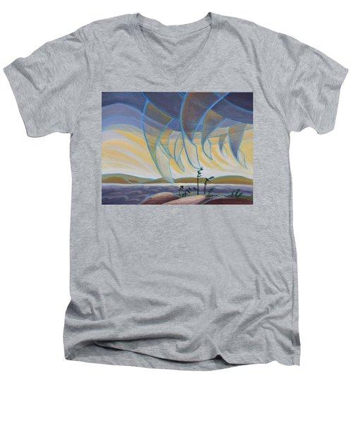 Wind And Rain Men's V-Neck T-Shirt