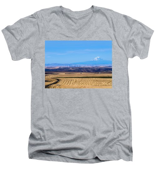 Wind And Wheat Men's V-Neck T-Shirt