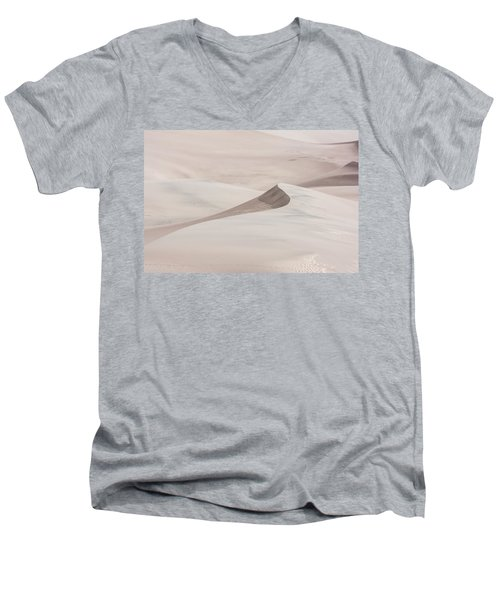 Men's V-Neck T-Shirt featuring the photograph Wind Formations by Colleen Coccia