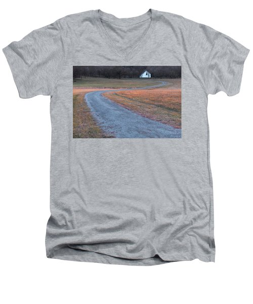 Winding Road Men's V-Neck T-Shirt