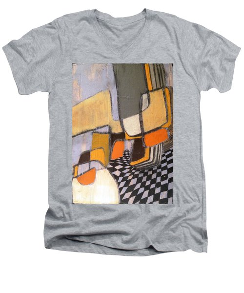 Winding Men's V-Neck T-Shirt