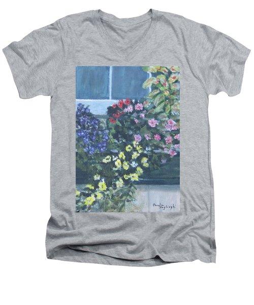 Window Box Men's V-Neck T-Shirt
