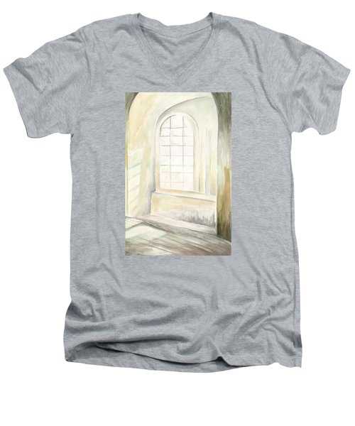 Window Men's V-Neck T-Shirt by Darren Cannell