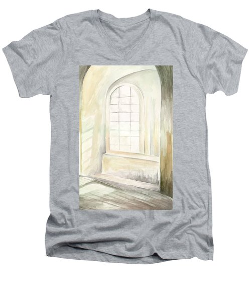 Window Men's V-Neck T-Shirt