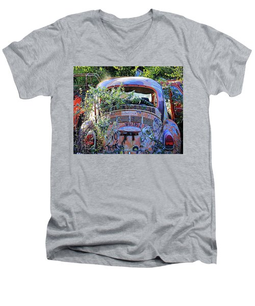 Window Dressing Men's V-Neck T-Shirt by Christopher McKenzie