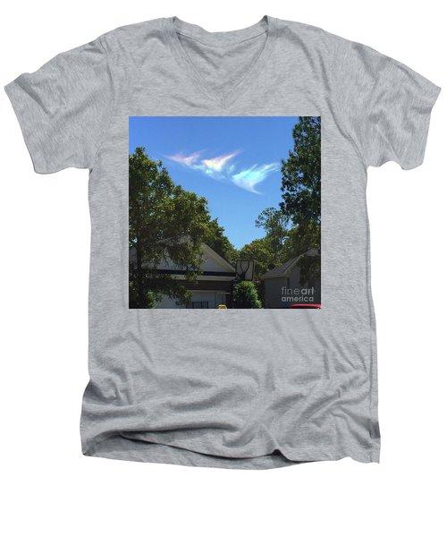 Window From Heaven Men's V-Neck T-Shirt