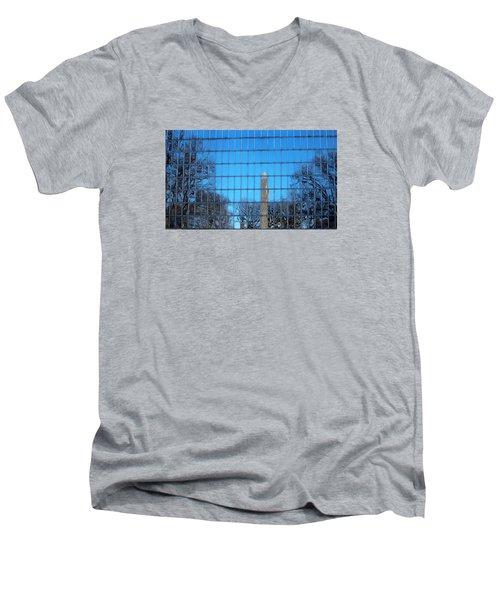 Window Reflection  Men's V-Neck T-Shirt by Jewels Blake Hamrick
