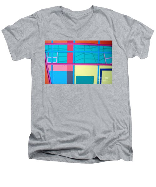 Window Reflections Men's V-Neck T-Shirt
