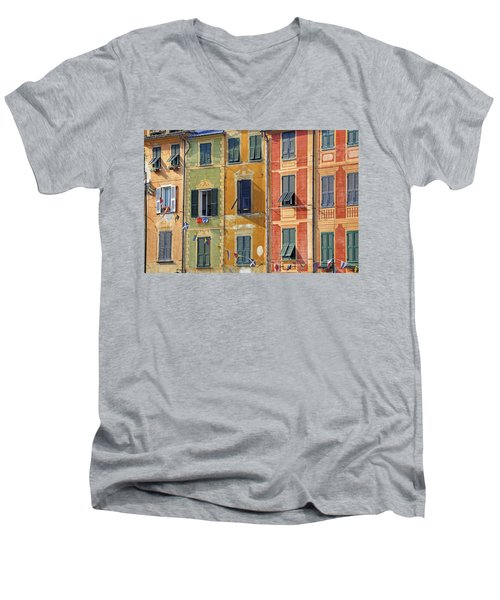 Windows Of Portofino Men's V-Neck T-Shirt