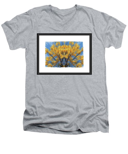 Windows Of The Soul Men's V-Neck T-Shirt by Beto Machado
