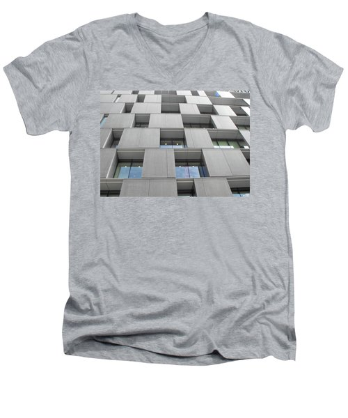 Windows_south Bank 01 Men's V-Neck T-Shirt