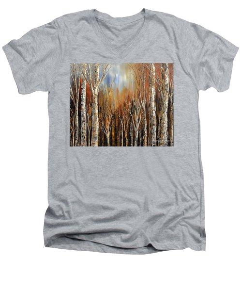 Winds Of Autumn Men's V-Neck T-Shirt