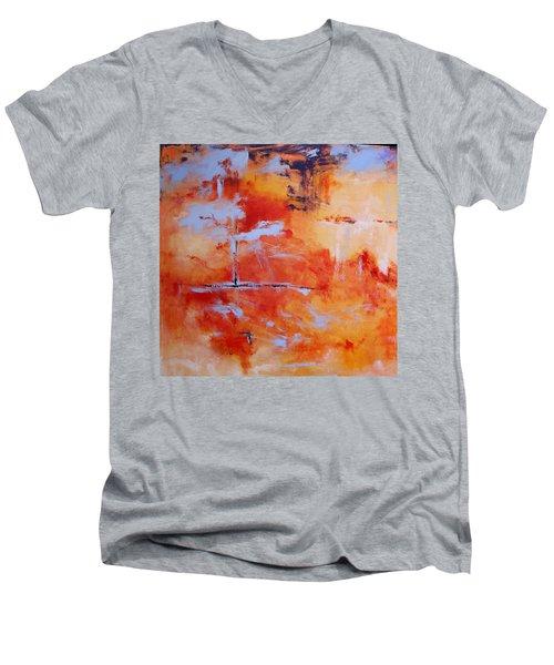 Winds Of Change Men's V-Neck T-Shirt by M Diane Bonaparte