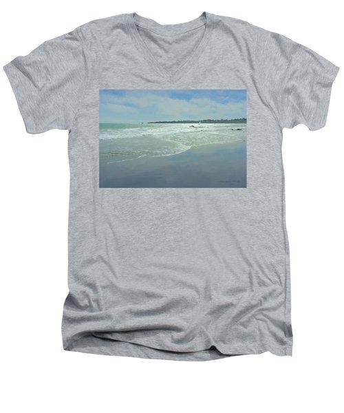 Windsurfer Little Compton, Ri Men's V-Neck T-Shirt
