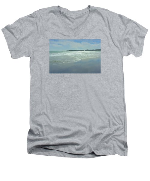 Windsurfer Little Compton, Ri Men's V-Neck T-Shirt