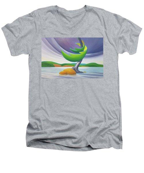 Windswept II Men's V-Neck T-Shirt