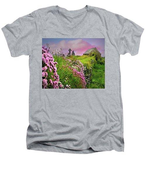Windswept Memories Men's V-Neck T-Shirt