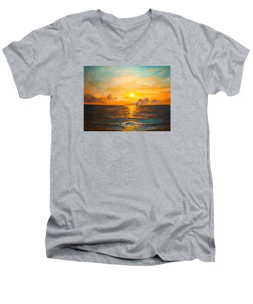 Windward Men's V-Neck T-Shirt