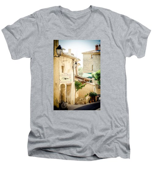Men's V-Neck T-Shirt featuring the photograph Wine Country by Jason Smith