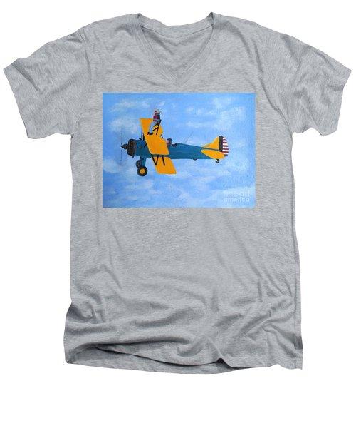 Wing Walker Men's V-Neck T-Shirt