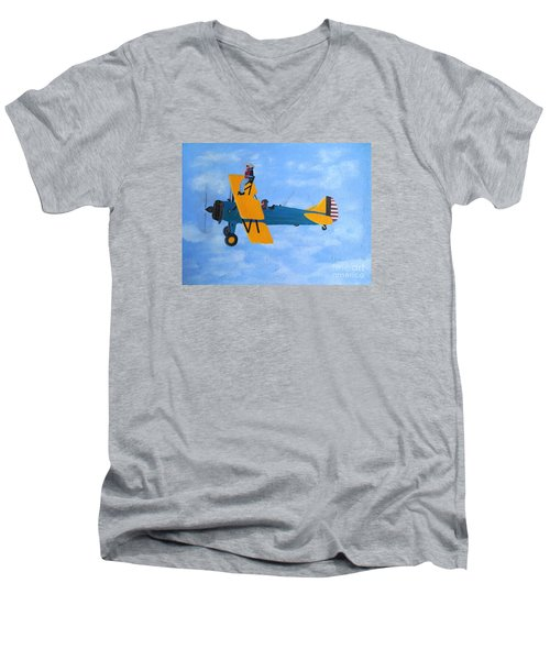 Wing Walker Men's V-Neck T-Shirt