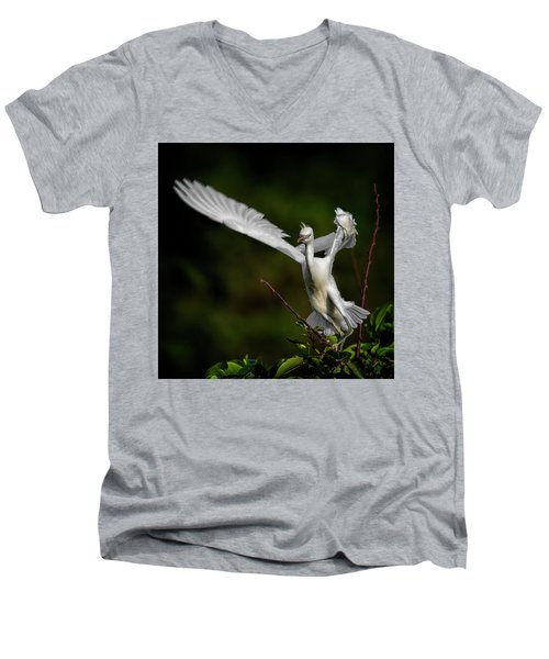 Winged Men's V-Neck T-Shirt