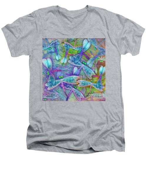 Wings Large In Square Format Men's V-Neck T-Shirt