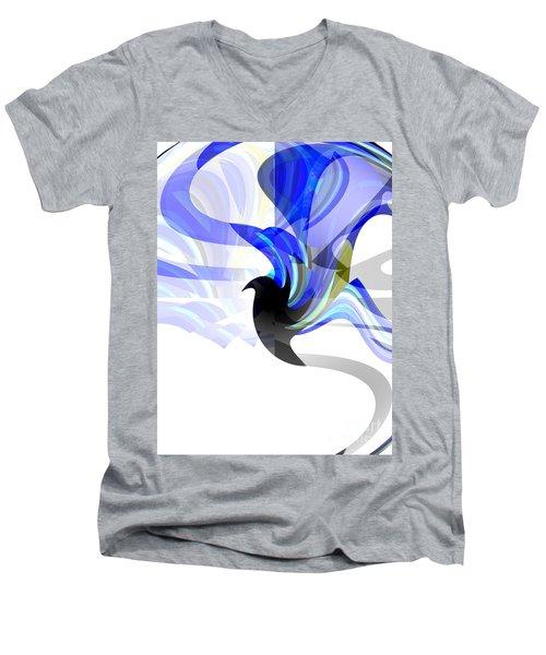 Wings Of Freedom Men's V-Neck T-Shirt