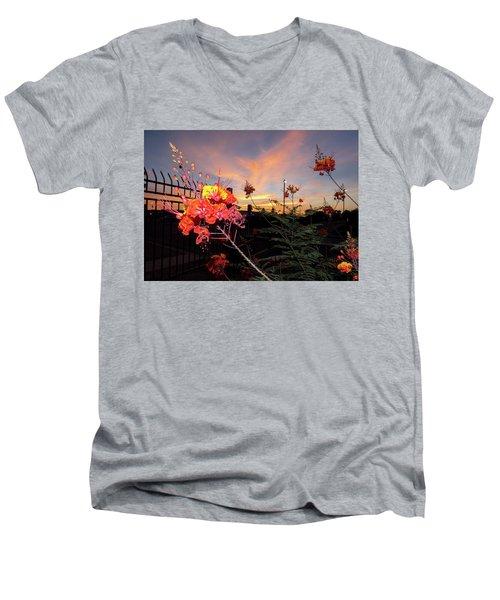 Wings Of Paradise Men's V-Neck T-Shirt