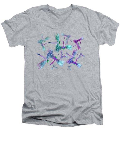 Wings Shirt Image Men's V-Neck T-Shirt