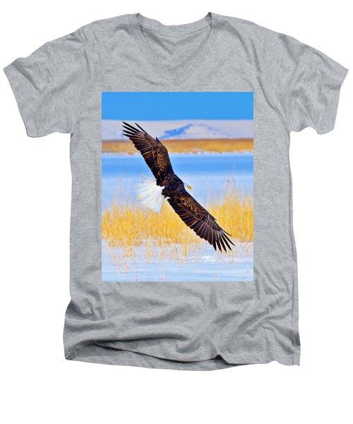 Wingspan Men's V-Neck T-Shirt
