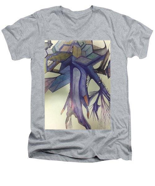 Winp Men's V-Neck T-Shirt