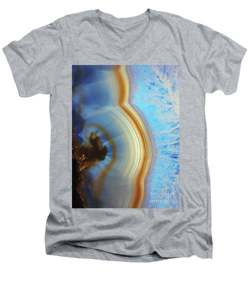 Winter Agate Men's V-Neck T-Shirt
