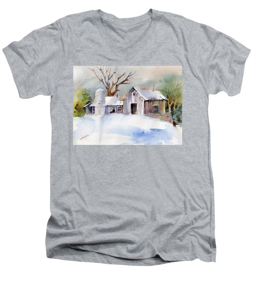 Winter Barn Men's V-Neck T-Shirt