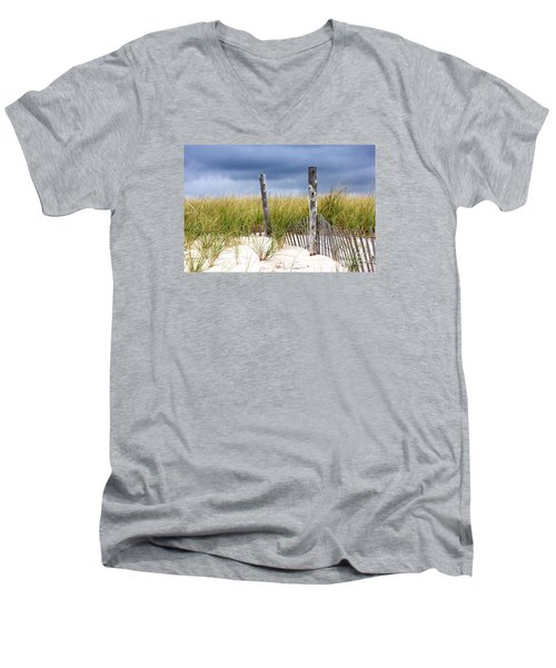 Men's V-Neck T-Shirt featuring the photograph Who Knows How Long This Will Last by Dana DiPasquale